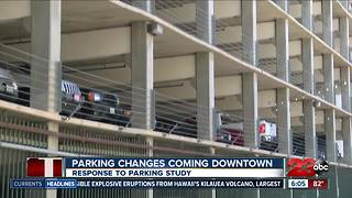 Changes coming to Bakersfield's downtown parking problem - Video