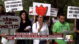 Greater Cincinnati reaction to DACA phase-out plan - Video