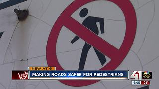Kansas City discusses pedestrian safety after deaths - Video
