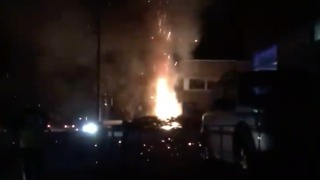 Substation Explosion, Fire Knocks Out Power in North Yorkshire - Video