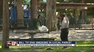 Florida Local parks could ban you from smoking | WFTS Investigative Report - Video