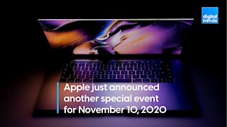"Apple's ""one more thing"" event"