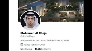 Ignored by Evil Media! First UAE Ambassador to Israel Opens Official Embassy in Tel Aviv!
