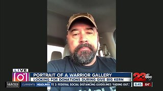 23ABC Morning Show: Give Big Kern Portrait of a Warrior Gallery