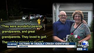 Victims of deadly crash in Arvada identified - Video