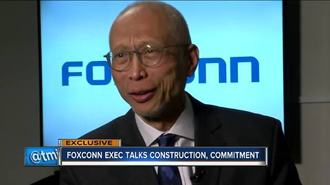 Foxconn expected to begin construction in Mount Pleasant within next 60 days