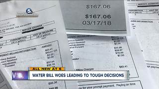 Water bill woes: Lorain residents upset over water rate hikes - Video