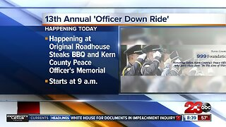 Kern County 999 Foundation hosts 13th annual 'Officer Down Ride'