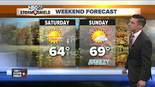 Matt's Friday morning forecast - Video