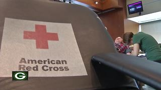 Packers Community Blood Drive at Lambeau Field - Video