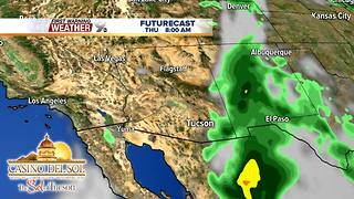 FORECAST: Warm, dry weather returns - Video