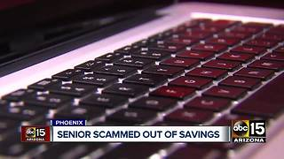 Scammer steals $20K from Valley woman - Video
