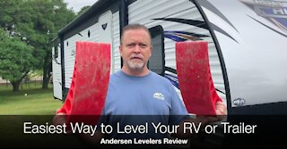 Andersen Camper Leveler Product Review And Setup