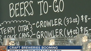 Craft Breweries Booming In Tulsa - Video