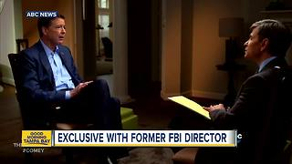 Comey: Russians may have leverage over Trump