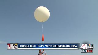 National Weather Service uses balloons to forecast Hurricane Irma - Video