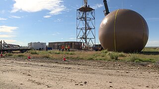 Boise Doppler radar dome is removed