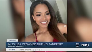 New Miss USA crowned during pandemic