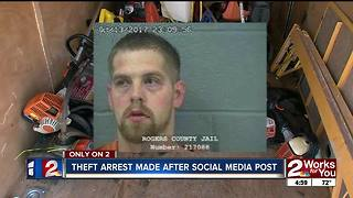 Facebook post helps Rogers County deputies nab burglary suspect, break up large-scale theft ring - Video