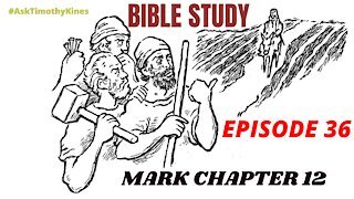 Bible Study: Episode 36; Mark Chapter 12