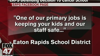 School district defending decision to cancel school - Video