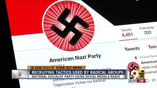 How white supremacist hate groups plant seeds in our area - Video