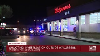 Shooting Investigation outside Walgreens