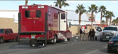 Vegas police dealing with suspicious package near Oakey, Decatur