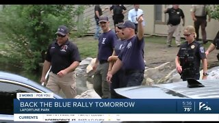 Back The Blue Rally Saturday 11am