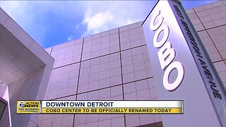 Detroit's Cobo Center to be renamed today