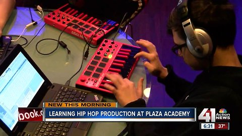 Plaza Academy receives new studio for hip hop production class