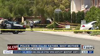UPDATE: Neighbors heard constant fighting at home where teen allegedly killed father, shot mother - Video