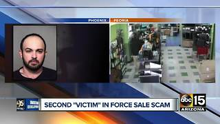 Second victim in force sale scam steps forward - Video