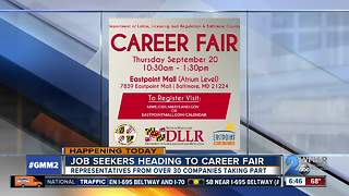 Companies looking to hire at Baltimore County career fair