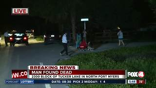 Man found dead in North Fort Myers home -- 5:45 AM update - Video