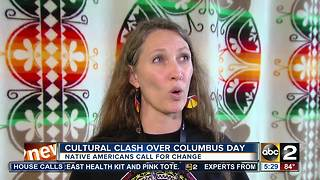 Cultural clash over Columbus Day