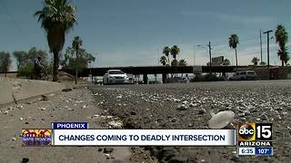 Changes coming to deadly intersection in Phoenix after ABC15 report - Video