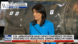 Nikki Haley Unveils Trump Administration's 'Irrefutable Evidence' Against Iran - Video