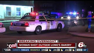 Woman dies after shooting in front of Long's Bakery - Video