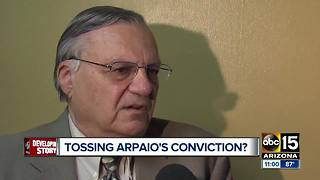 Prosecutor: Joe Arpaio should not be allowed to erase court record - Video