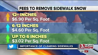 Importance of clearing sidewalks