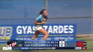 Eszter Toth & Sophie Freeman score in CSUB's 6-1 win v. Chicago St. - Video
