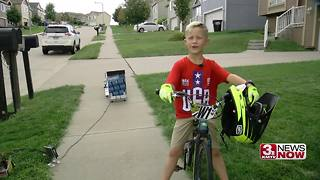 Omaha Sunday Morning: Piano man, butterflies, 6-year-old BMX champion - Video