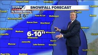 Winter Storm Watches issued for this weekend