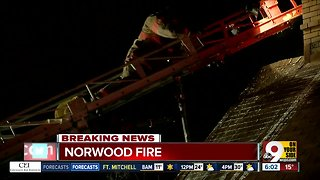 Norwood fire destroys home