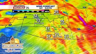 First Warning Weather Friday March 23, 2018 - Video
