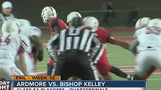 Ardmore vs Bishop Kelley - Oklahoma High School Football - Video