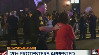 23 arrested during minimum wage protest in Ybor - Video