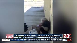 Homeless man attacked in viral video speaks out - Video