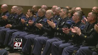 127 recruits sworn in as State Police Troopers - Video